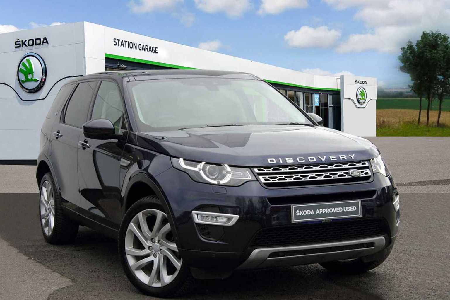 Land Rover Discovery Sport 2.0 TD4 (180ps) 4X4 HSE Luxury SW